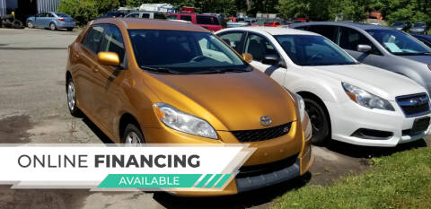 2009 Toyota Matrix for sale at DDK Motors LLC in Rock Hill NY
