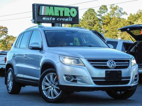 2011 Volkswagen Tiguan for sale at Metro Auto Credit in Smyrna GA