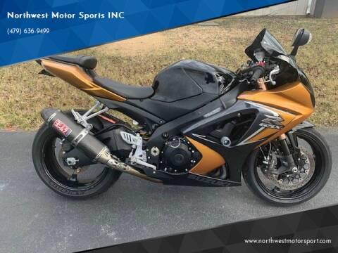 2008 Suzuki GSXR 1000 for sale at Northwest Motor Sports INC in Rogers AR