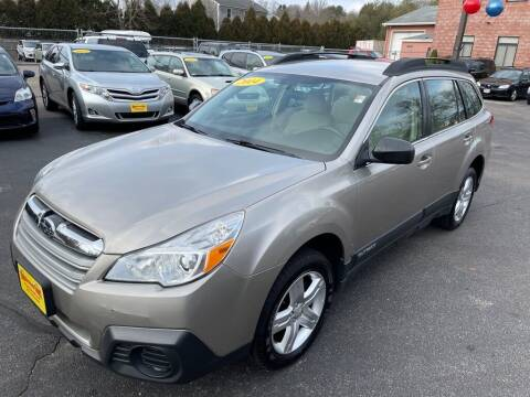 2014 Subaru Outback for sale at KINGSTON AUTO SALES in Wakefield RI