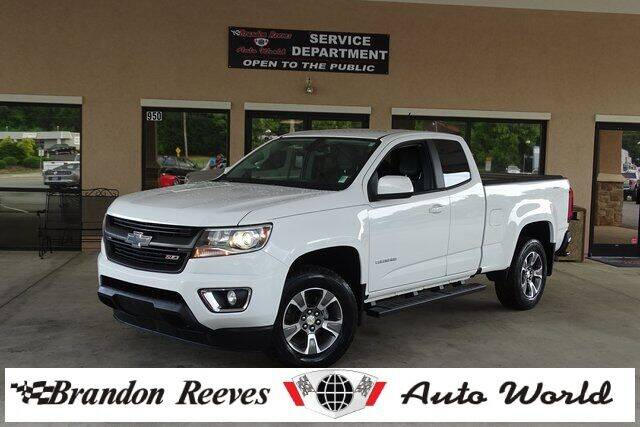 2017 Chevrolet Colorado for sale at Brandon Reeves Auto World in Monroe NC