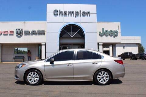 2017 Subaru Legacy for sale at Champion Chevrolet in Athens AL