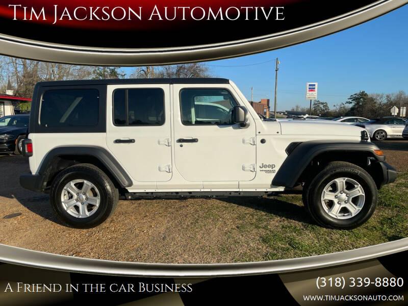 2020 Jeep Wrangler Unlimited for sale at Tim Jackson Automotive in Jonesville LA