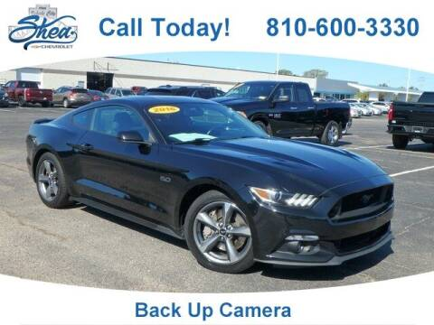 2016 Ford Mustang for sale at Erick's Used Car Factory in Flint MI