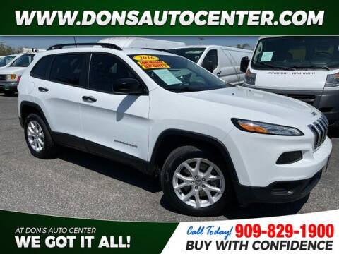 2016 Jeep Cherokee for sale at Dons Auto Center in Fontana CA