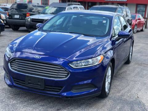 2015 Ford Fusion for sale at K Town Auto in Killeen TX