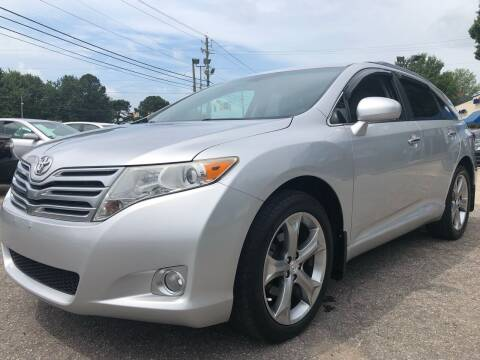 2012 Toyota Venza for sale at Capital Motors in Raleigh NC