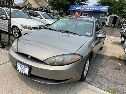 2000 Mercury Cougar for sale at KBB Auto Sales in North Bergen NJ