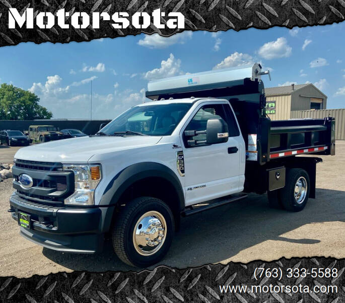 2020 Ford F-550 for sale at Motorsota in Becker MN