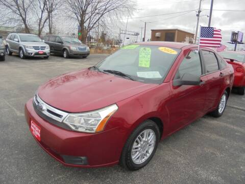 2011 Ford Focus for sale at Century Auto Sales LLC in Appleton WI