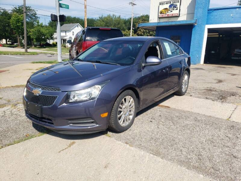 2013 Chevrolet Cruze for sale at M & C Auto Sales in Toledo OH