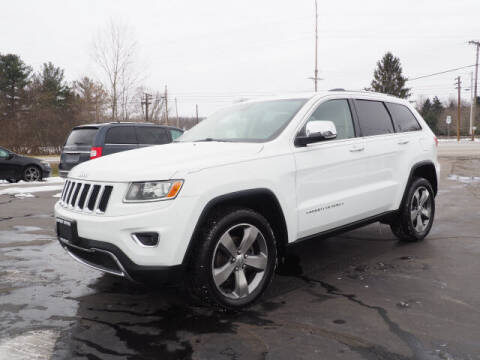 2014 Jeep Grand Cherokee for sale at Patriot Motors in Cortland OH