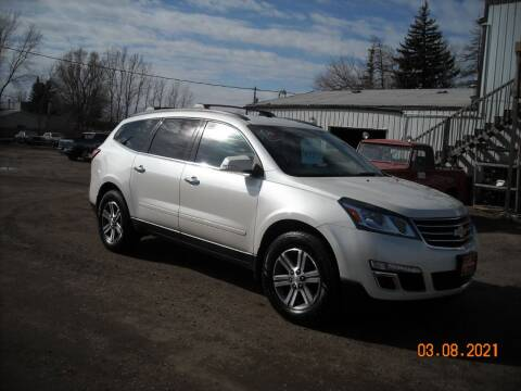 2015 Chevrolet Traverse for sale at Ron Lowman Motors Minot in Minot ND