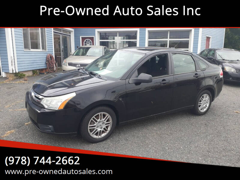 2010 Ford Focus for sale at Pre-Owned Auto Sales Inc in Salem MA