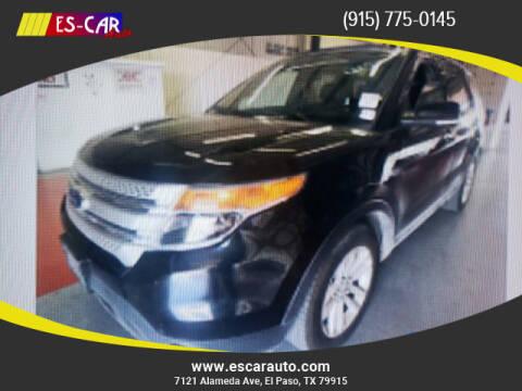 2014 Ford Explorer for sale at Escar Auto in El Paso TX