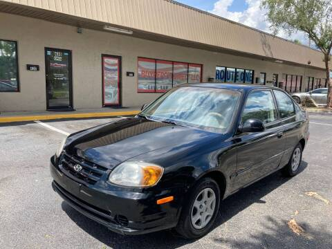 2005 Hyundai Accent for sale at Top Garage Commercial LLC in Ocoee FL