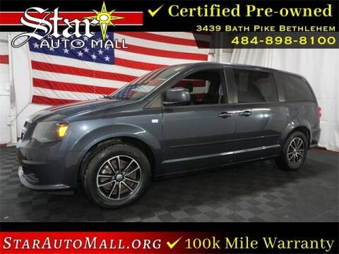2014 Dodge Grand Caravan for sale at STAR AUTO MALL 512 in Bethlehem PA