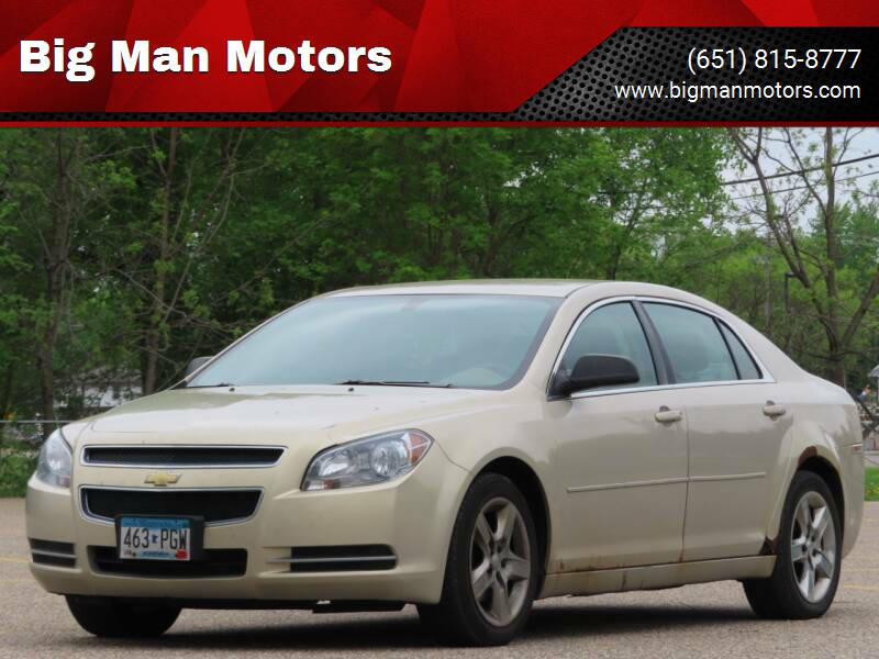2009 Chevrolet Malibu for sale at Big Man Motors in Farmington MN