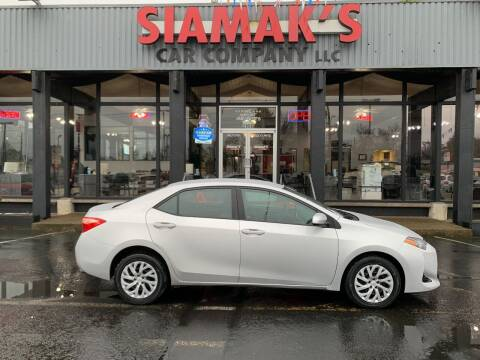 2017 Toyota Corolla for sale at Siamak's Car Company llc in Salem OR
