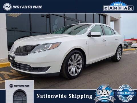 2013 Lincoln MKS for sale at INDY AUTO MAN in Indianapolis IN