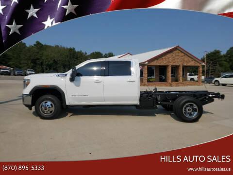 2021 GMC Sierra 3500HD CC for sale at Hills Auto Sales in Salem AR