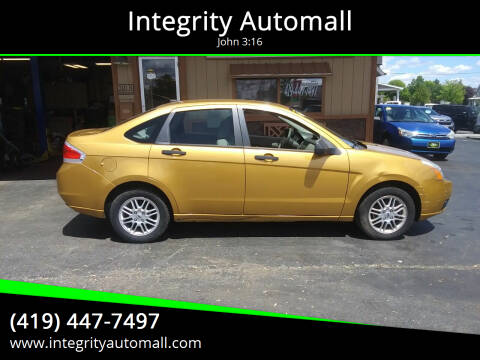 2009 Ford Focus for sale at Integrity Automall in Tiffin OH