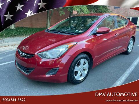 2011 Hyundai Elantra for sale at DMV Automotive in Falls Church VA