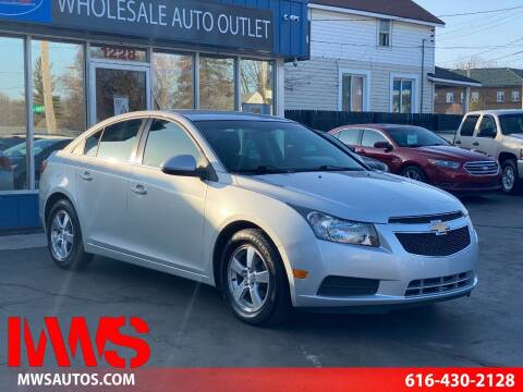2013 Chevrolet Cruze for sale at MWS Wholesale  Auto Outlet in Grand Rapids MI
