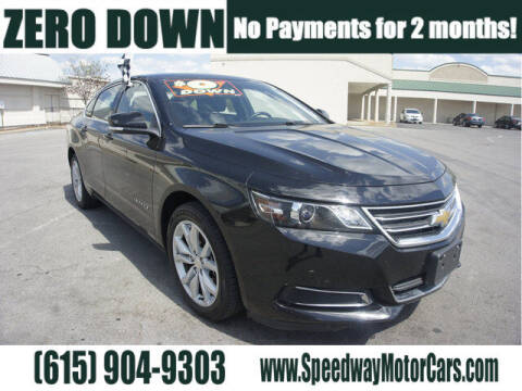 2017 Chevrolet Impala for sale at Speedway Motors in Murfreesboro TN