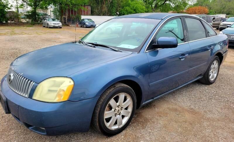 2005 Mercury Montego for sale at Jackson Motors Used Cars in San Antonio TX
