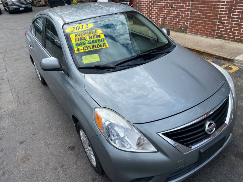 2012 Nissan Versa for sale at Paradise Auto Sales in Swampscott MA