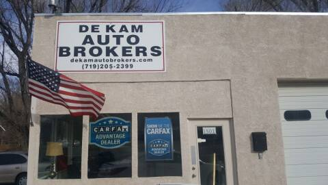 2007 Pontiac G6 for sale at De Kam Auto Brokers in Colorado Springs CO