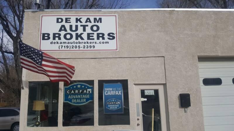 1990 Jeep Wrangler for sale at De Kam Auto Brokers in Colorado Springs CO