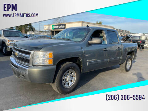 2011 Chevrolet Silverado 1500 for sale at EPM in Auburn WA