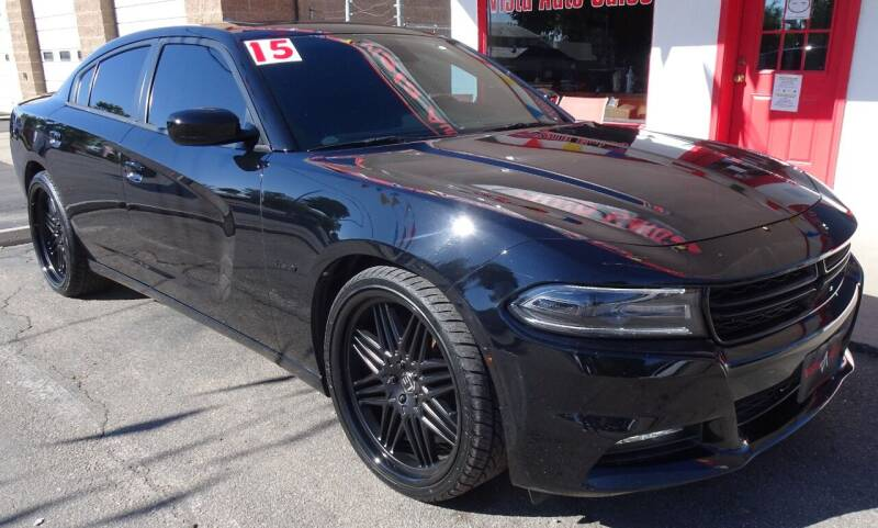 2015 Dodge Charger for sale at VISTA AUTO SALES in Longmont CO