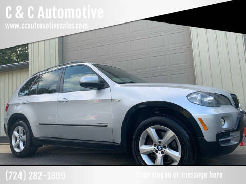 2009 BMW X5 for sale at C & C Automotive in Chicora PA