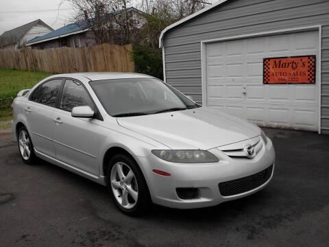 2008 Mazda MAZDA6 for sale at Marty's Auto Sales in Lenoir City TN