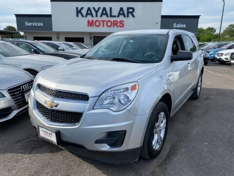 2014 Chevrolet Equinox for sale at KAYALAR MOTORS in Houston TX