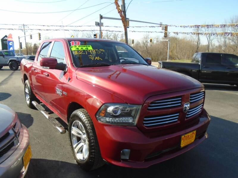 2013 RAM Ram Pickup 1500 for sale at River City Auto Sales in Cottage Hills IL