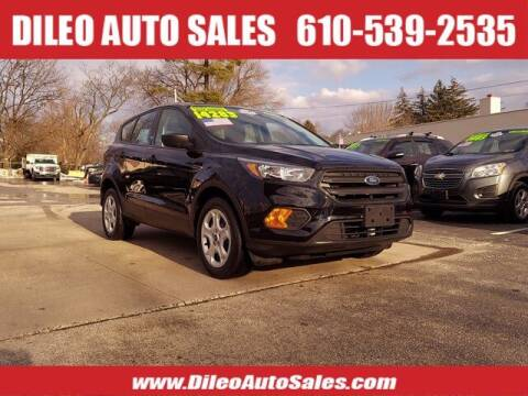 2018 Ford Escape for sale at Dileo Auto Sales in Norristown PA