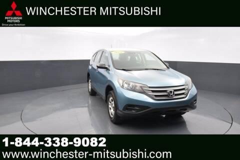 2014 Honda CR-V for sale at Winchester Mitsubishi in Winchester VA