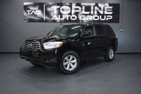 2010 Toyota Highlander for sale at TOPLINE AUTO GROUP in Kent WA