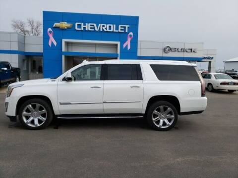 2020 Cadillac Escalade ESV for sale at Finley Motors in Finley ND