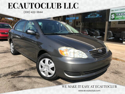 2005 Toyota Corolla for sale at ECAUTOCLUB LLC in Kent OH