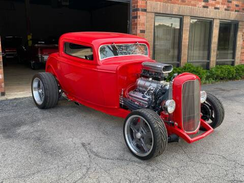 1932 Ford Coupe for sale at MGM CLASSIC CARS in Addison IL