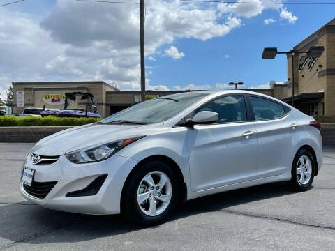 2015 Hyundai Elantra for sale at Ultimate Auto Sales Of Orem in Orem UT