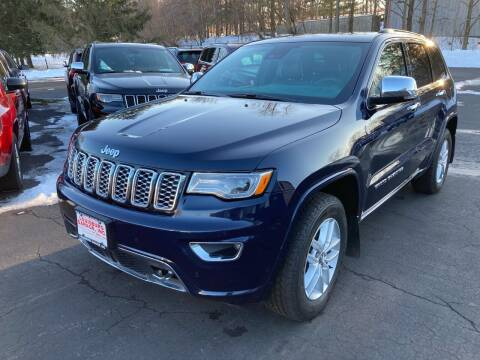 2017 Jeep Grand Cherokee for sale at Louisburg Garage, Inc. in Cuba City WI
