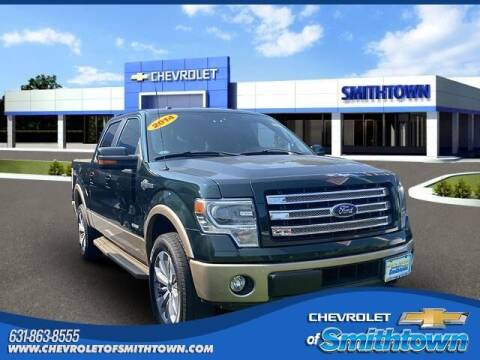 2014 Ford F-150 for sale at CHEVROLET OF SMITHTOWN in Saint James NY