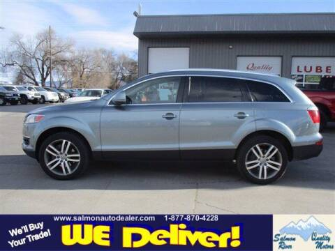 2007 Audi Q7 for sale at QUALITY MOTORS in Salmon ID
