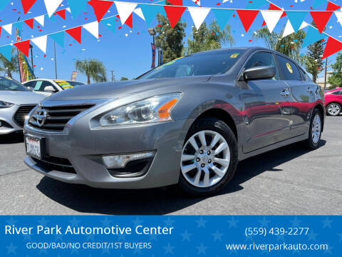 2015 Nissan Altima for sale at River Park Automotive Center in Fresno CA